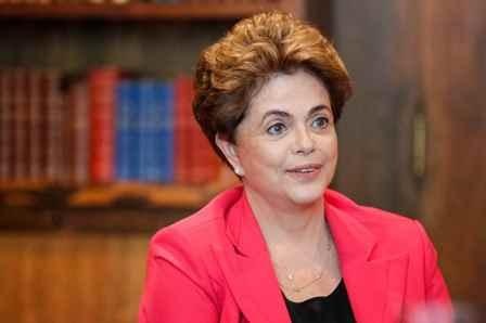 Brasília - DF, 20/06/2016. Presidenta Dilma Rousseff durante entrevista para o Jornal El-País no Palácio da Alvorada. Foto: Roberto Stuckert Filho/PR