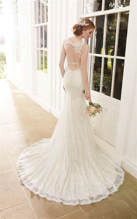 Sparkly Fit and Flare Wedding Dress   Martina Liana