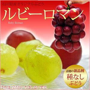 日本トップレベルの大粒葡萄!甘みの強い赤系ルビーロマン!ギフトの最適な特級品の葡萄です!...