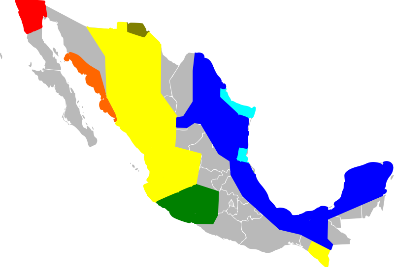 File:Mexico cartel map May 2010.svg