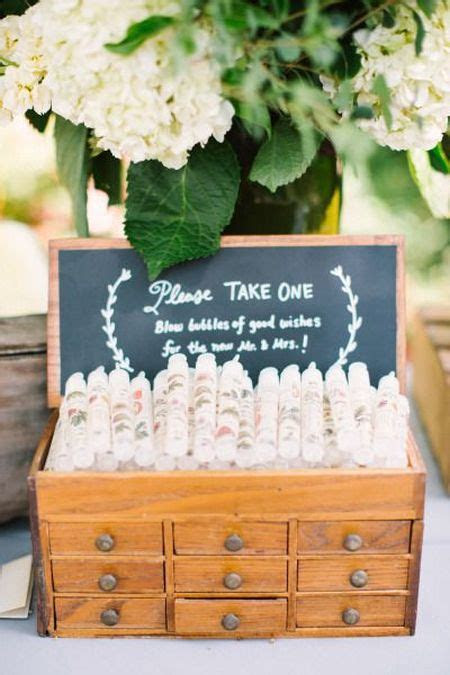 Wedding Favors Bubbles