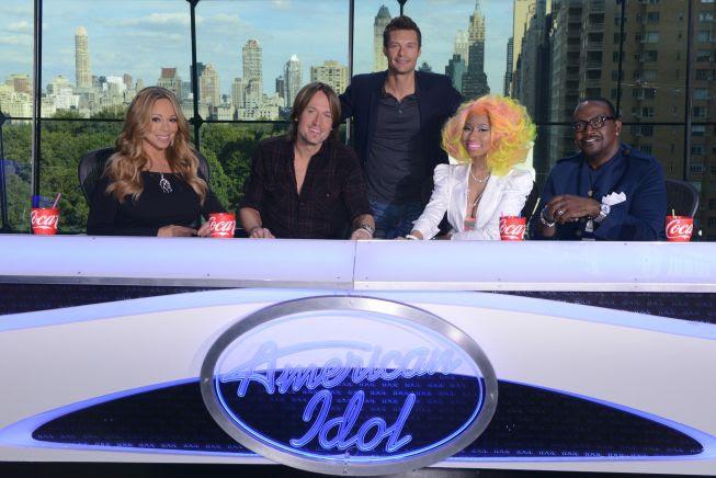 Judging Panel - Season 12, Mariah Carey, Nicki Minaj, Keith Urban