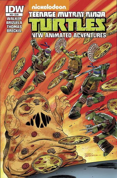 Teenage Mutant Ninja Turtles New Animated Adventures #20