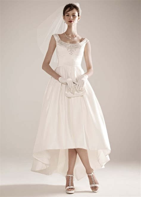 Best Tea Length Wedding Dresses   Tea length wedding dress