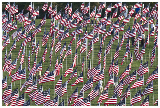 Flags On Art Hill 5