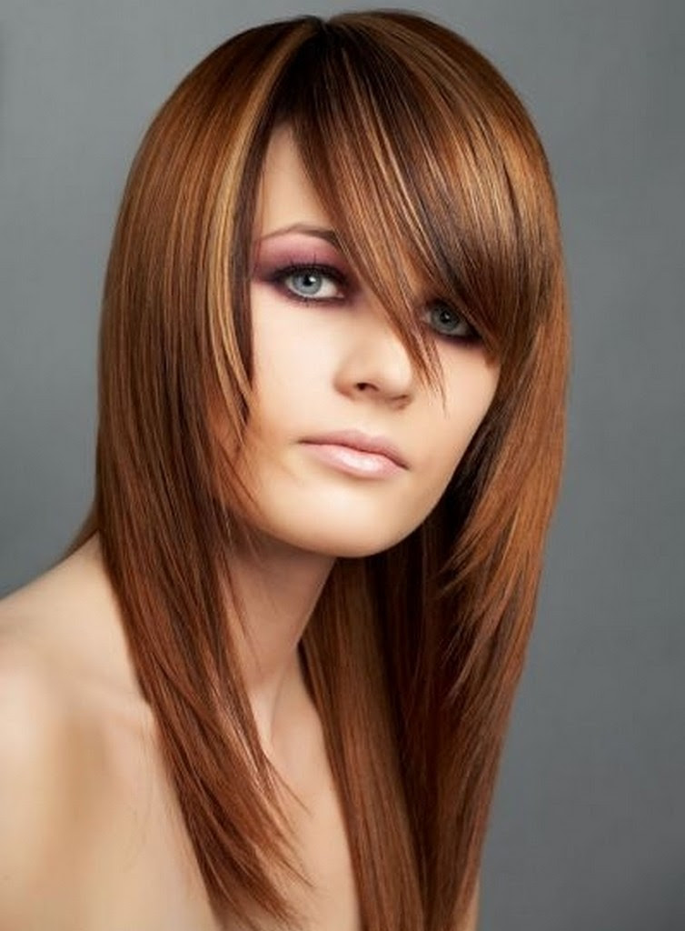 Long Hairstyles  With Bangs Beautiful Hairstyles