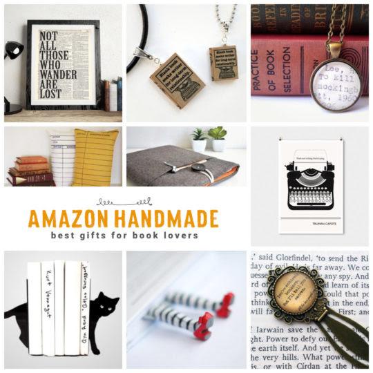 12 Best Book Gift Ideas From Amazon Handmade