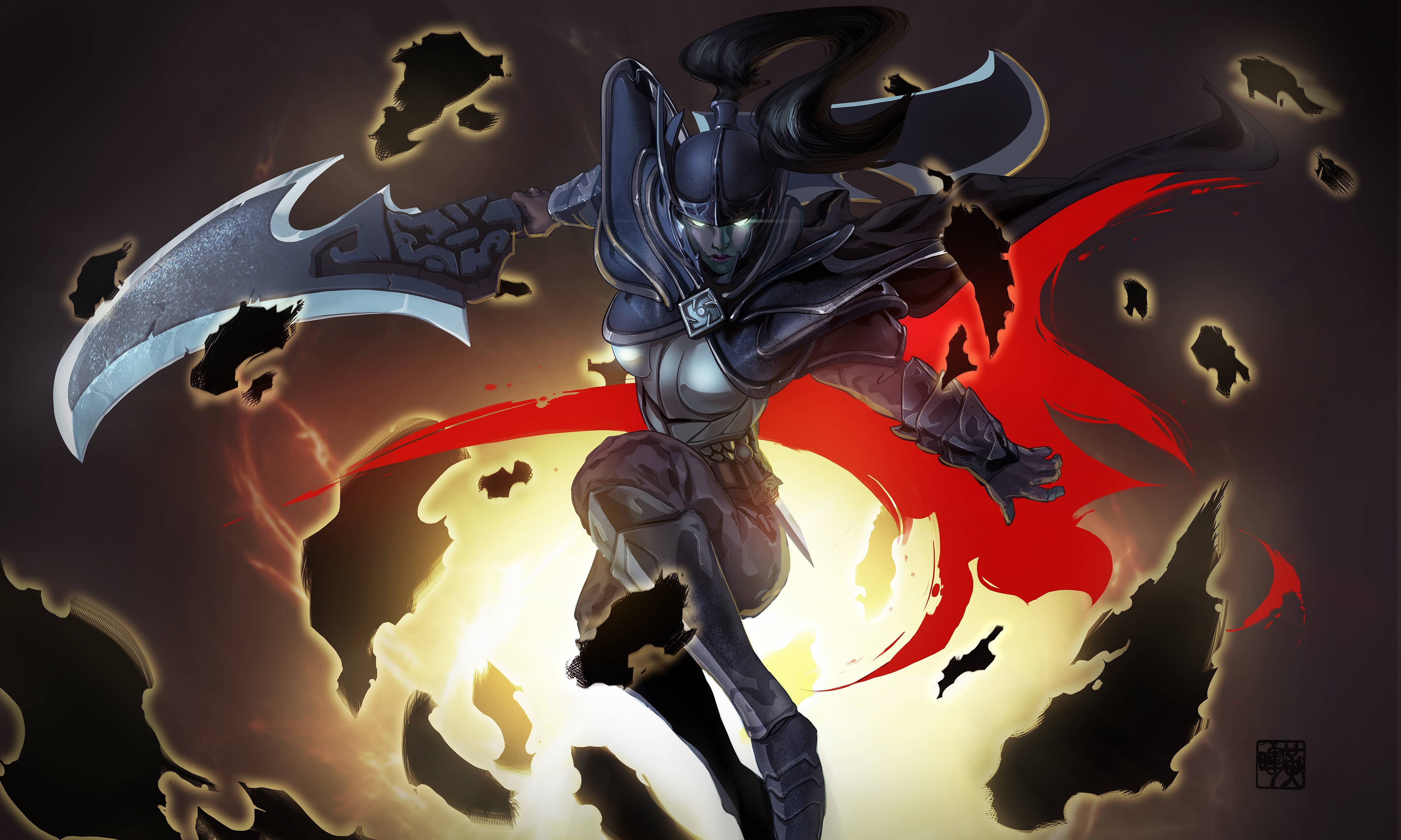 Coup De Grace Phantom Assassin Art Dota2