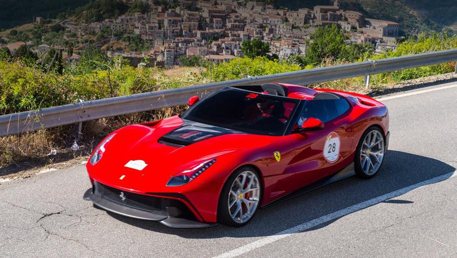 Ferrari F12 Berlinetta TRS. автомобили, эксклюзив