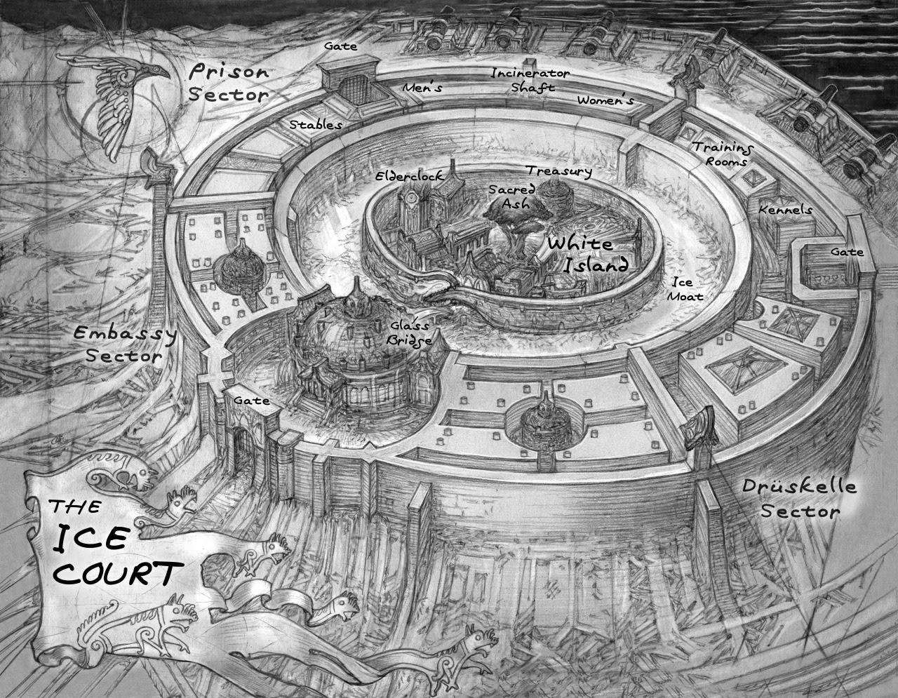 Resultado de imagen de six of crows maps