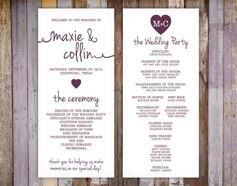 Wedding Printing :: Q's Printing and Design
