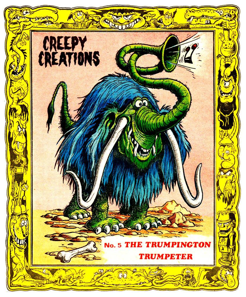 Creepy Creations No.05 - The Trumpington Trumpeter