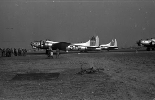 Planes lined up for mission 69 01