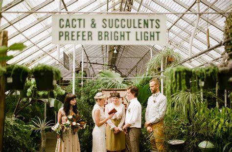 Spontaneous Morning Elopement Inspiration   Green Wedding