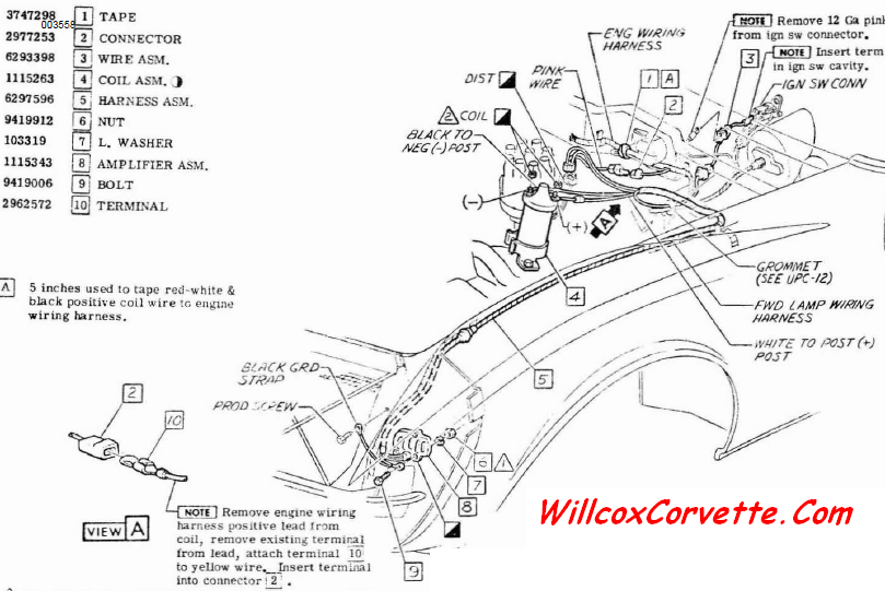 1969 Corvette Ignition Wiring Diagram Wiring Diagrams Collection Collection Chatteriedelavalleedufelin Fr