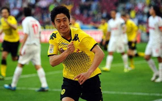 Koln v Dortmund; Shinji Kagawa