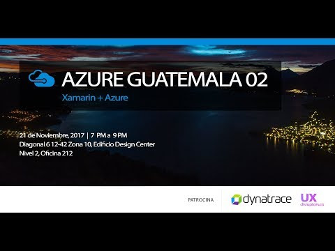 Azure Guatemala Meetup 02