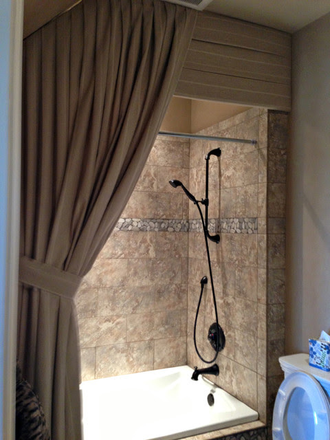 Drapery - traditional - shower curtains - dallas - by Kite's Interiors