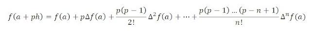 Newton's Forward Interpolation Formula with MATLAB Program
