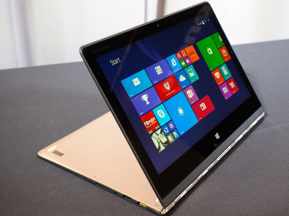 Lenovo Yoga 3 Pro Ultrabook brings a thinner and lighter design
