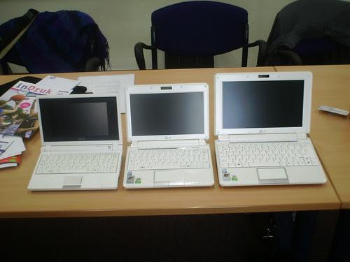 3 generaties EeePC