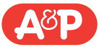 A and P store logo