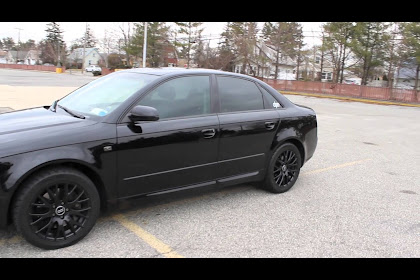 2008 Audi A4 Blacked Out