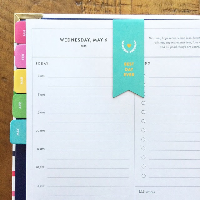 Emily Ley Simplified Planner 2015-2016 Update! - Paper Luxe
