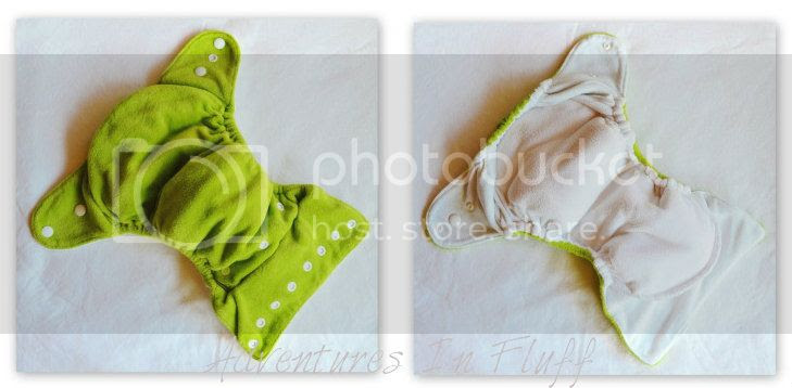 Thirsties Duo Fab Fitted Cloth Diaper - inside and Outside