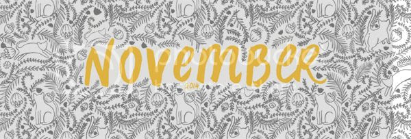 Happiness is... November 2014 Free Printable Calendar