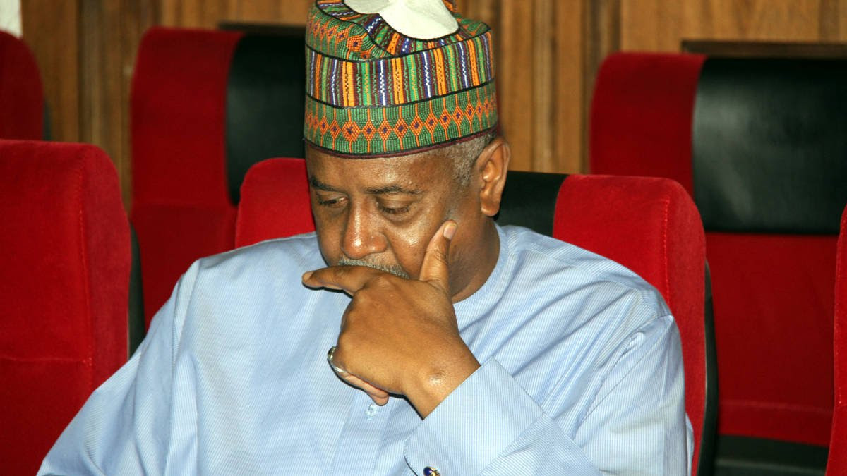Dasuki asks court to put off case indefinitely, insists on open trial