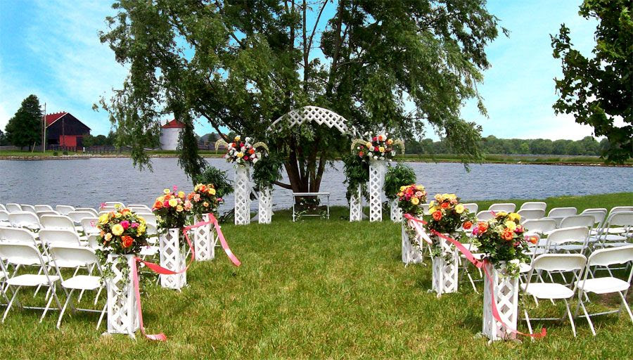 Small Outdoor Wedding Reception Ideas
