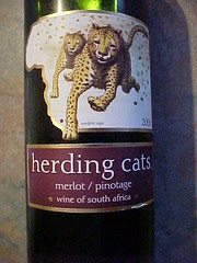 Herding Cats Wine Main Label