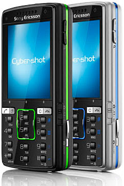 Sony Ericsson K850i - Colors