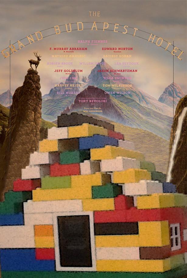 Lego - El Gran Hotel Budapest