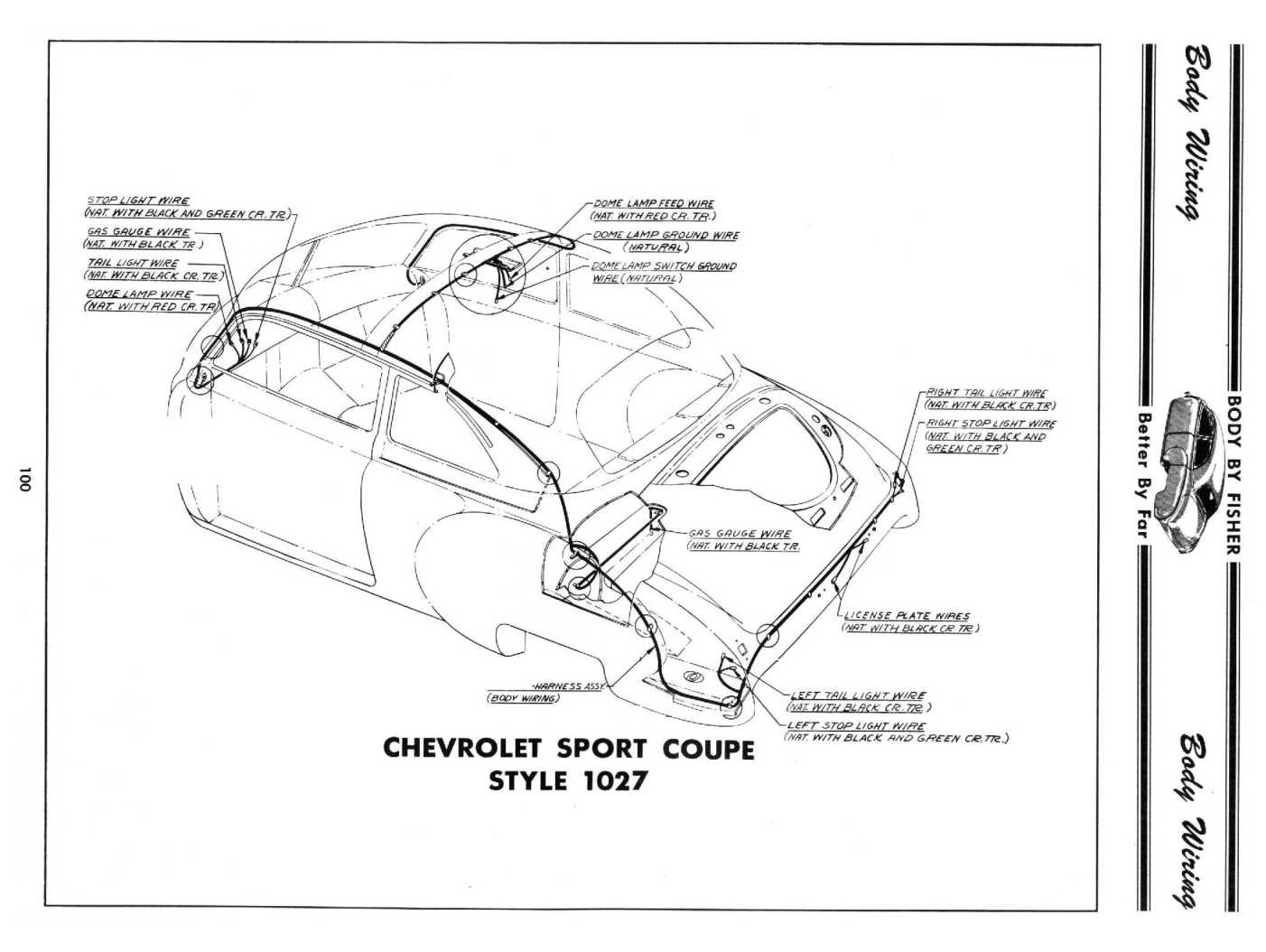 Chevy Dome Light Wiring Diagram