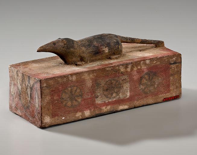Egypt Shrew Mummy Coffin