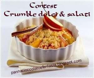 Contest crumble dolci e salati