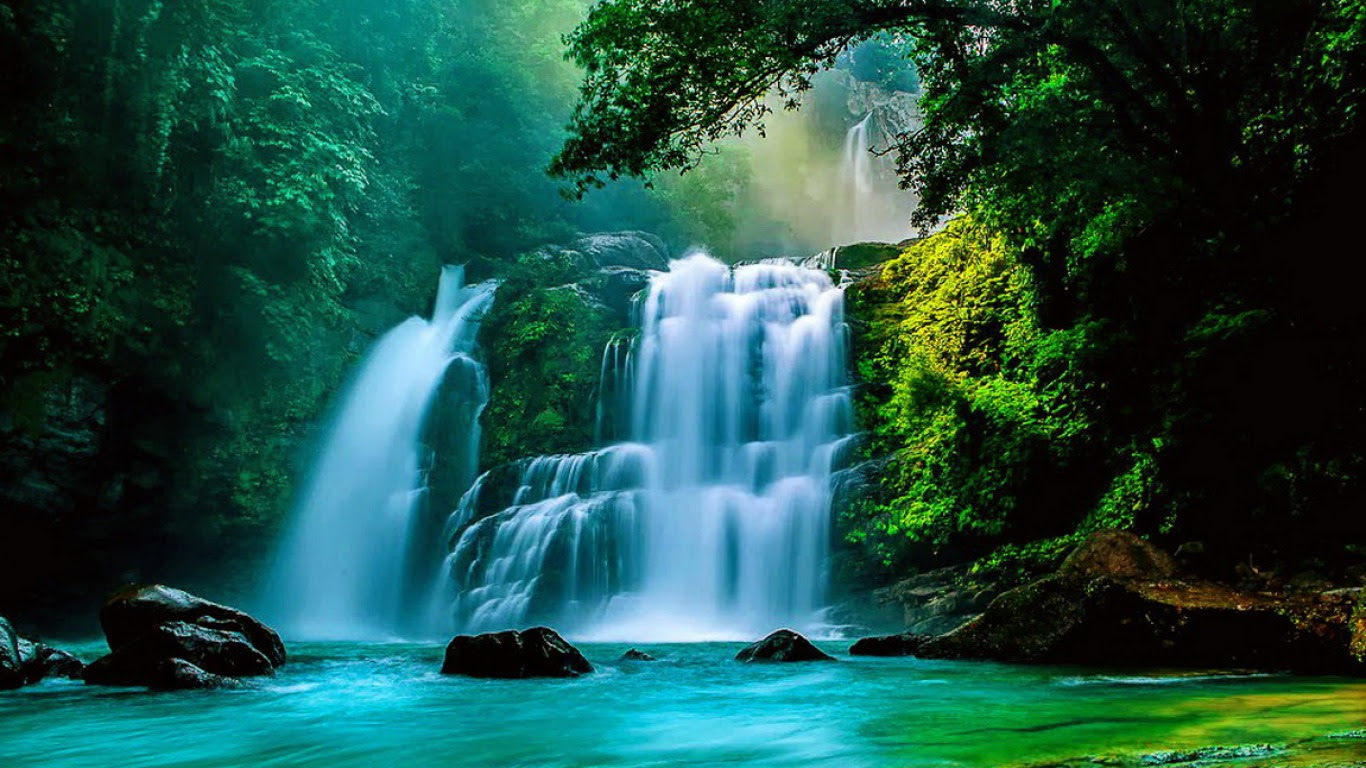 Beautiful Real Waterfall Wallpaper