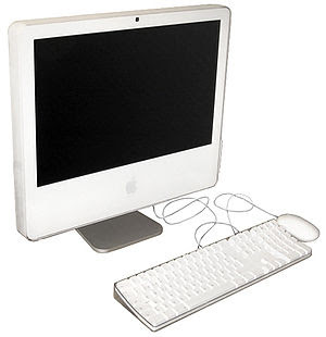 iMac with iSight Thinner than the original iMa...
