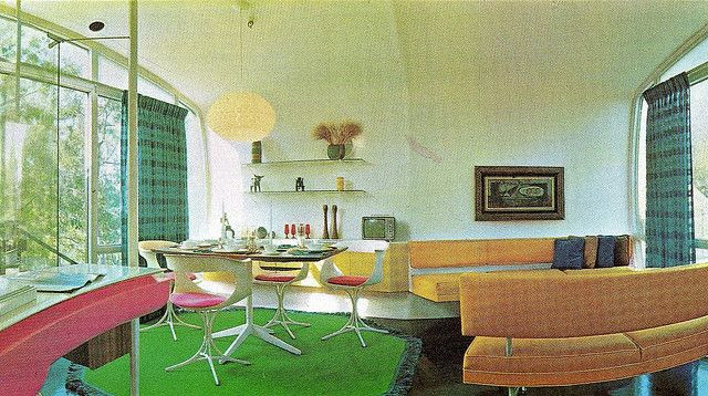 Monsanto House of the Future Living Room | Flickr