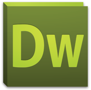 English: Application icon for Adobe Dreamweave...