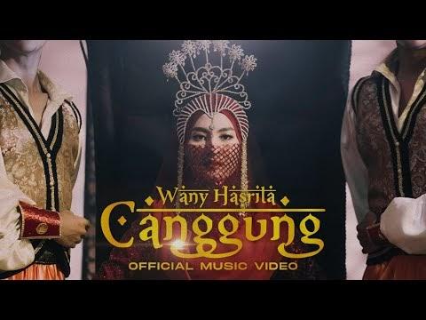 LIRIK LAGU WANY HASRITA | CANGGUNG (Official Music Video)