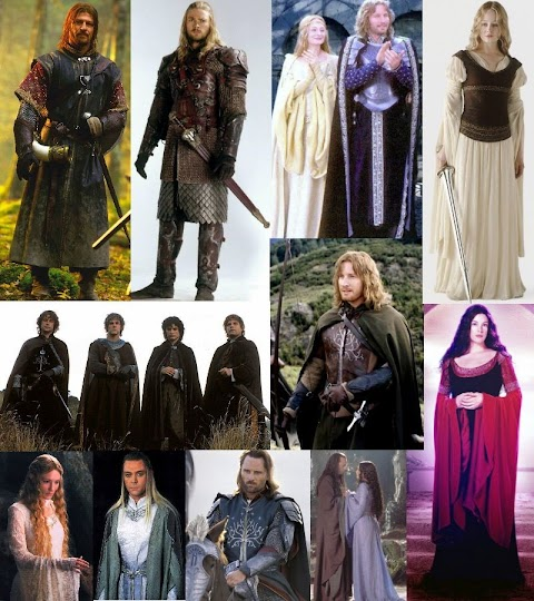 Lord Of The Rings Film Costumes