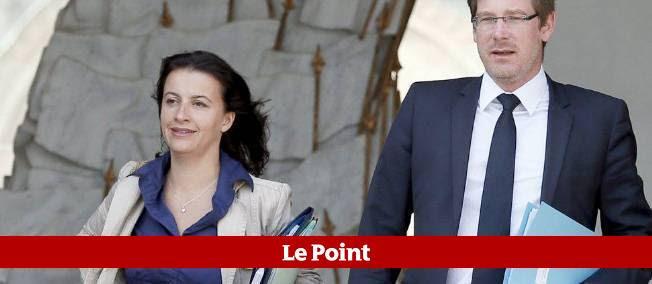 Cécile Duflot et Pascal Canfin, les deux ministres EELV du gouvernement.