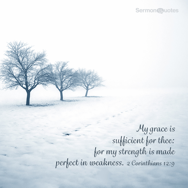 My Grace Is Sufficient Sermonquotes