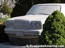 Mercedes Benz Tombstone, Linden, New Jersey