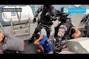 Detik Detik TNI AL Tangkap Kapal Asing di Laut Natuna