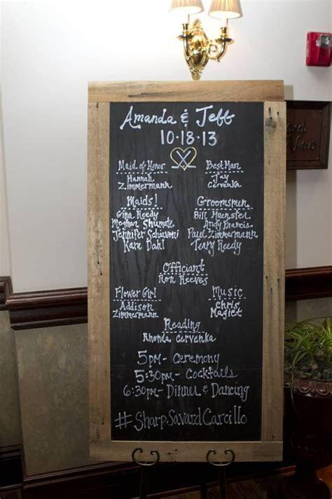 Best 25  Wedding Program Board ideas on Pinterest