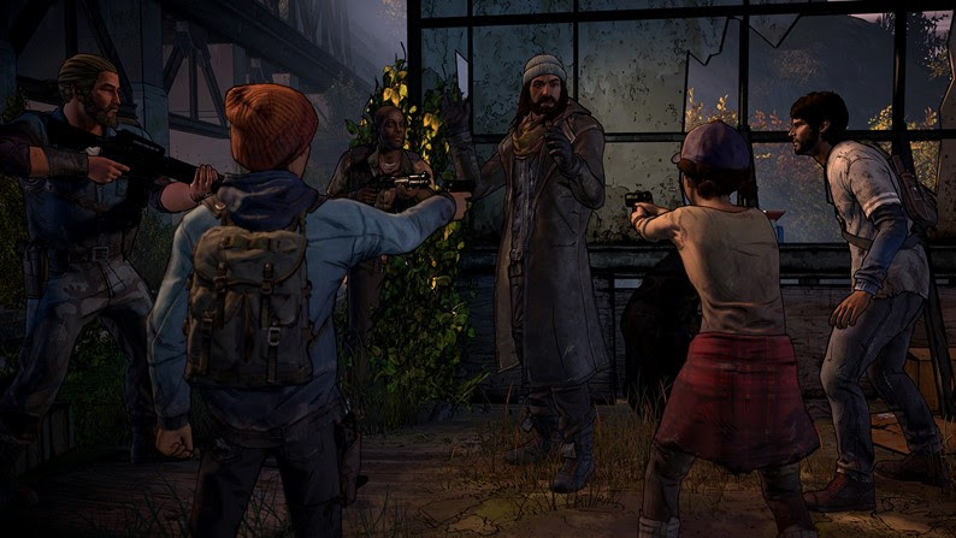 Rostos novos aparecem em telas inéditas de The Walking Dead: A New Frontier